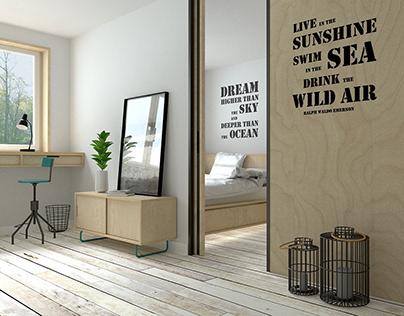 summer sea apartment