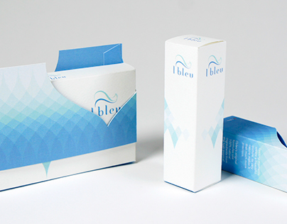 l'bleu Cosmetic Packaging