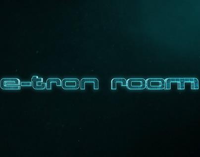 The e-tron room / Audi