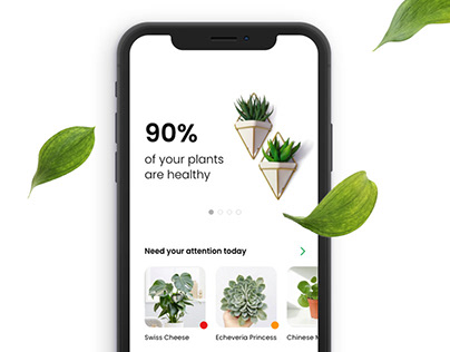 App for Plant care | Case study + Experience design