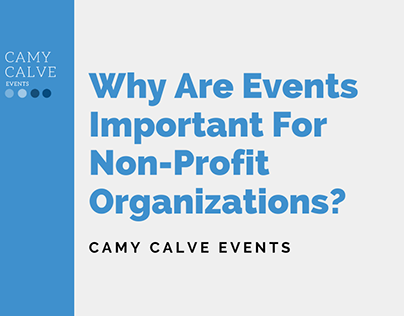Why Are Events Important For Non-Profits?