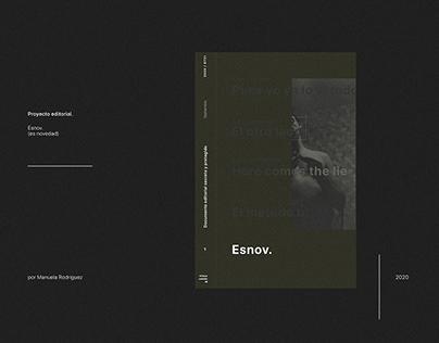 Esnov - Proyecto editorial