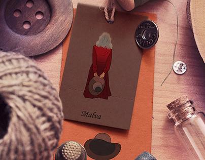 Malva, character design