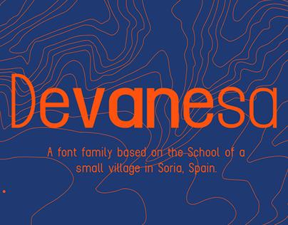 DEVANESA - FREE FONT