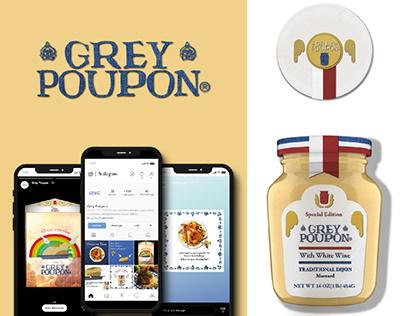 Grey Poupon Rebrand