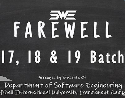 Banner Design Farewell