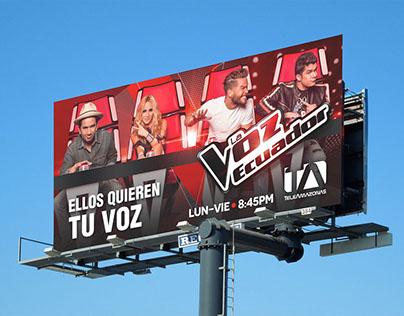 La Voz Ecuador - Campaña Publicitaria