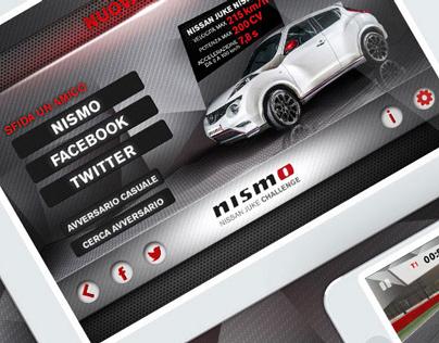 Nismo Juke Challange App • Nissan
