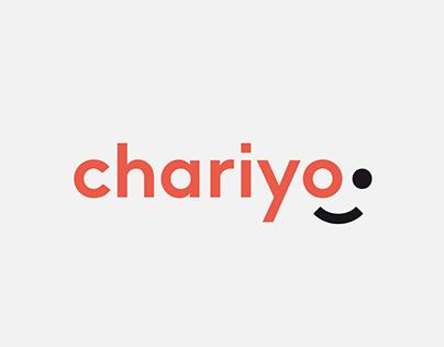 Chariyo branding, UI and UX