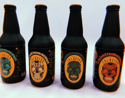 Calavera: Beer Bottles & Tattoos