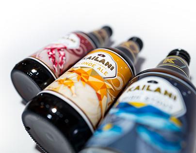Kailani_Craft Beer: Label Design