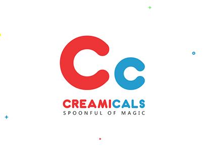 KickStart Branding for CreamiCals - Icecream Parlor