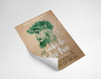 Collis Duranty - Under the Bolee Tree Concert Poster