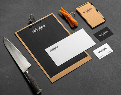 CAFE CLEMENTINE Identity