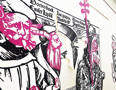 """""""Ein Hammerschlag ..."""" 500 years of protestant faith"""
