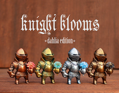 Knight Blooms: Dahlia Edition