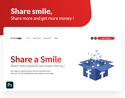 Share smile, Share more and get more money !