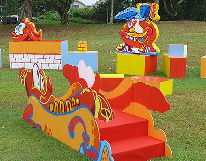 Childrens Playground installation - Singapore