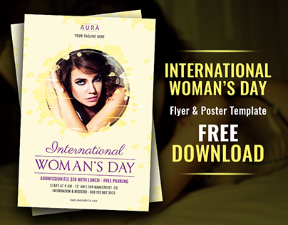 Woman's Day Flyer Template | Free Download!