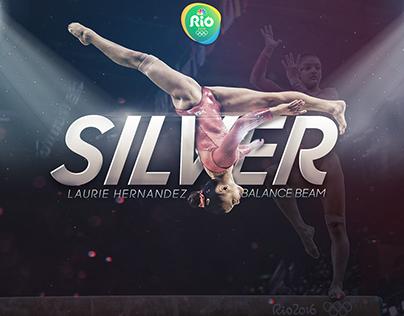 2016 Rio Olympic Social Media Graphics