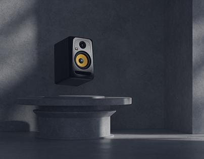 KRK classic studio monitors