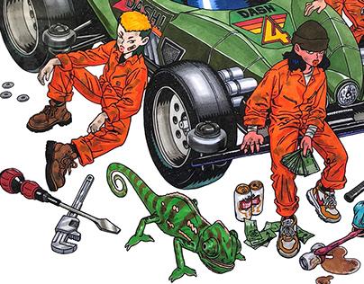 Motor mechanic [CHAMELEON]
