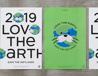 Primera 'Love the Earth' Campaign Identity