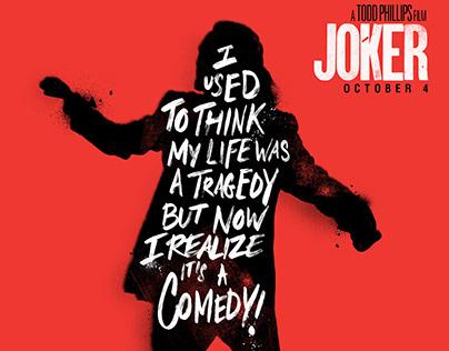 Joker - Typography Poster
