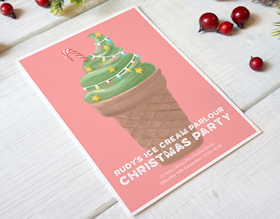 Ice Cream Parlour - Christmas Party
