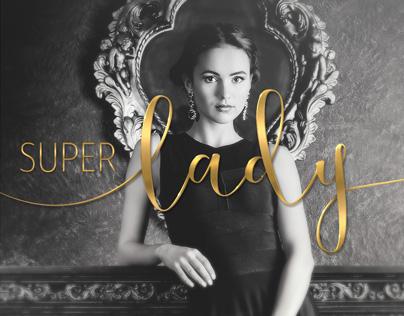 Super Lady Print Ad