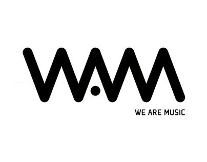 WAM - we are music - Logo animation