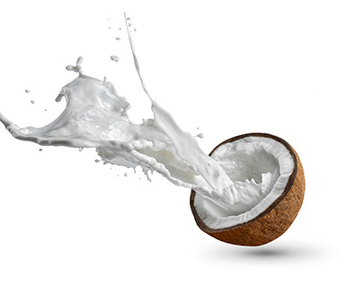 Coconut Milk Splash
