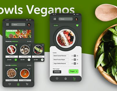 App Bowls Veganos