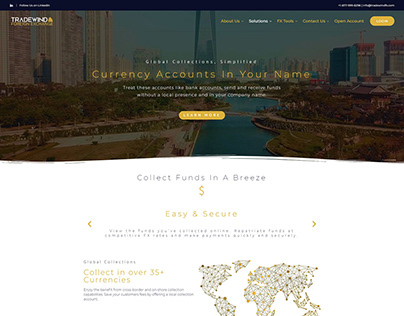 Tradewind Website
