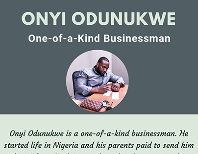 Onyi Odunukwe's Luxury Brand