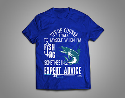 I will Design fishing T-shirt For your Company