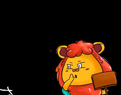 Mascot Hado for AEONMALL HA DONG