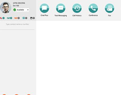 App main screen design