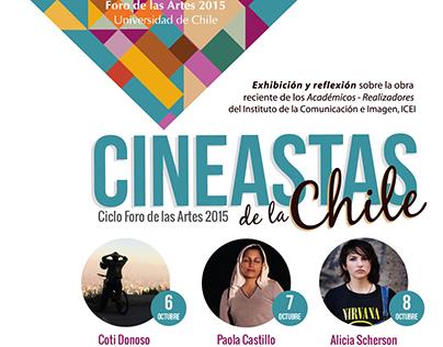 Cineastas de la Chile en el Foro de las Artes