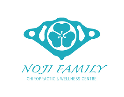 Noji Family Chiropractic & Wellness Centre Logo Designs
