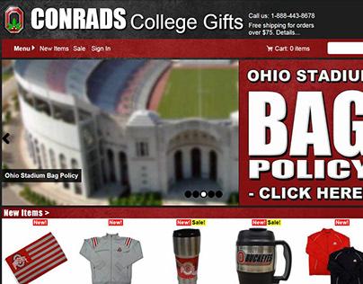 Conrads College Gift Website