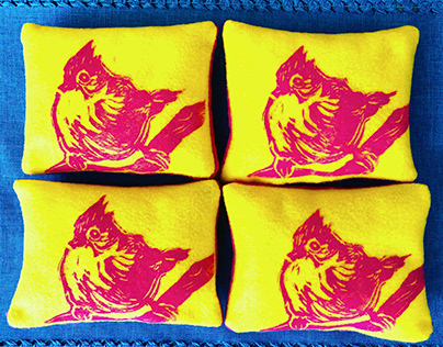Tufted Tit Mouse Pillows