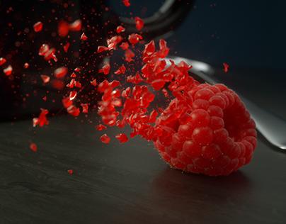 Glass Raspberry