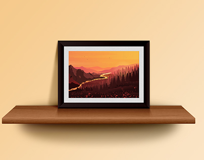 Landscapes Illustration