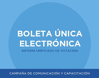 Boleta Única Electrónica I Campaña de difusión