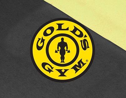 GOLD'S GYM - Proyectos de Branding, Promo, Web.