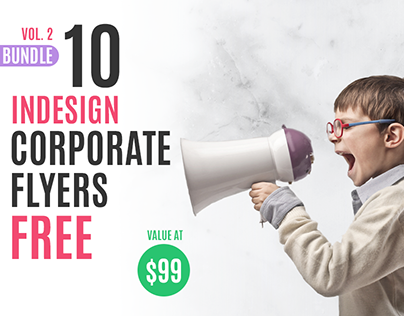 10 Free Corporate Flyer Templates for Adobe InDesign