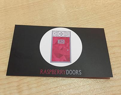 Raspberry Doors Business Card