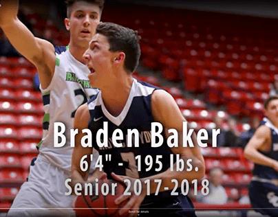 Braden Baker Basketball Highlights Video