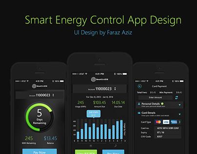 Smart Energy App Design